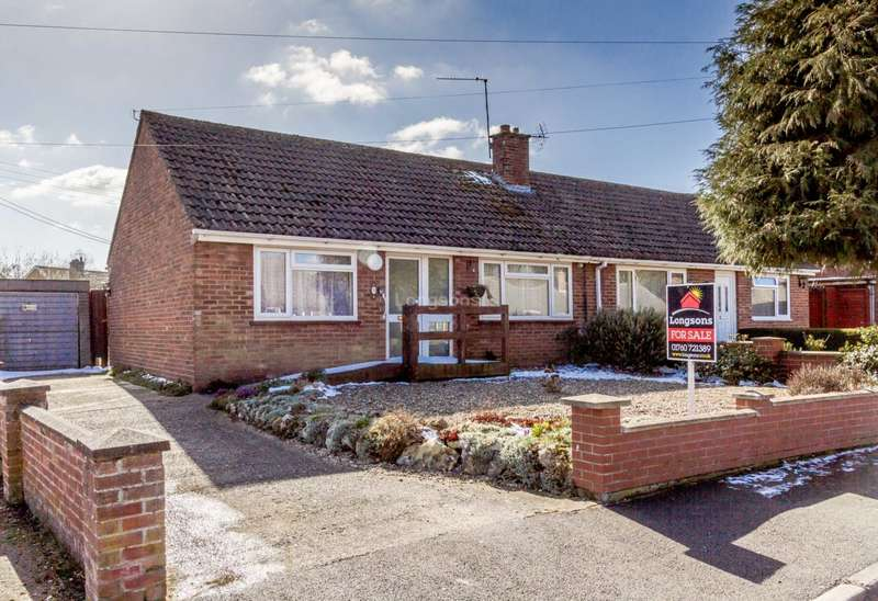 2 Bedrooms Semi Detached Bungalow for sale in Coronation Grove, Swaffham