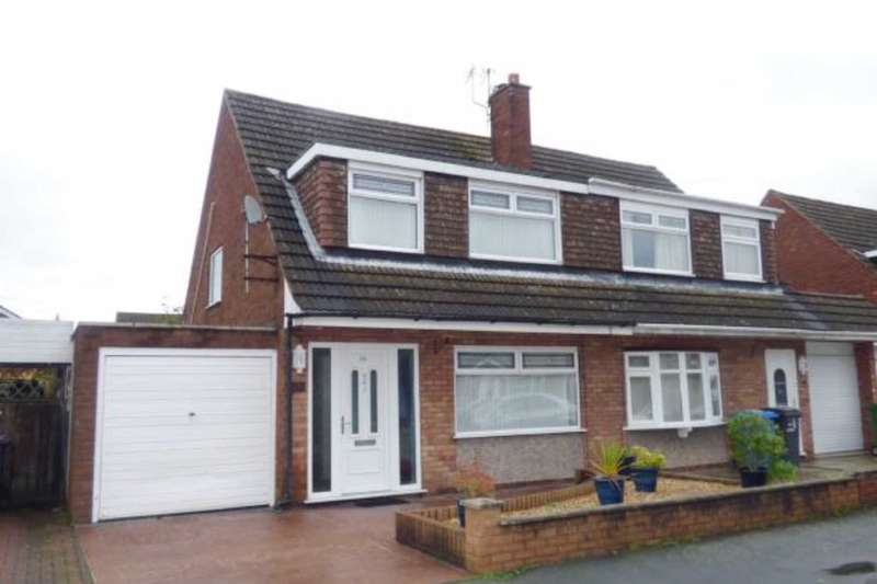 3 Bedrooms Semi Detached House for sale in Kintore Drive, Great Sankey