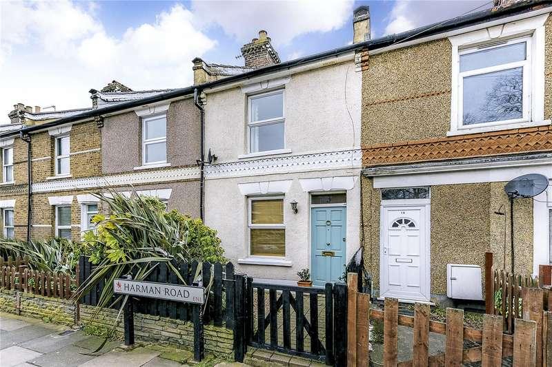 2 Bedrooms Terraced House for sale in Harman Road, Enfield, EN1
