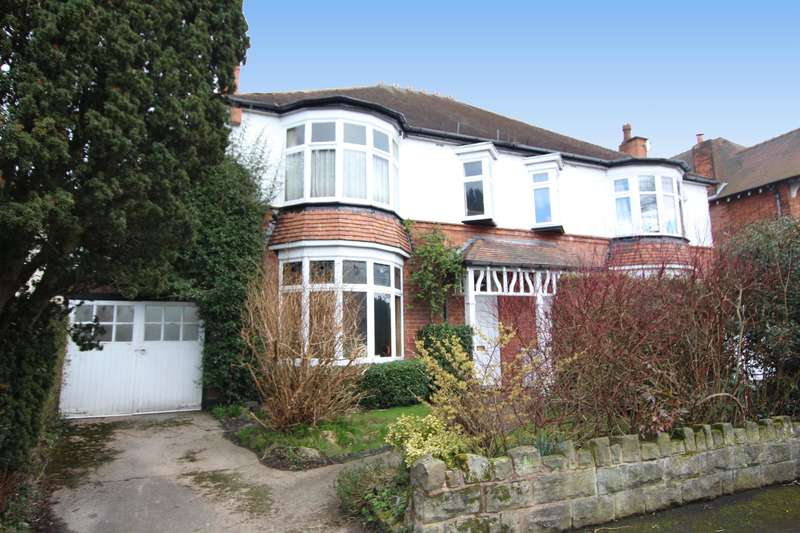 4 Bedrooms Semi Detached House for sale in Mayfield Road, Wylde Green, Sutton Coldfield, West Midlands