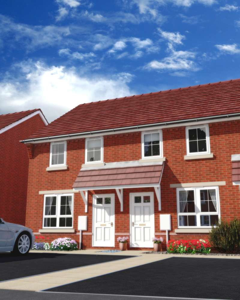 2 Bedrooms Semi Detached House for sale in Nine Days Lane, Redditch, B98