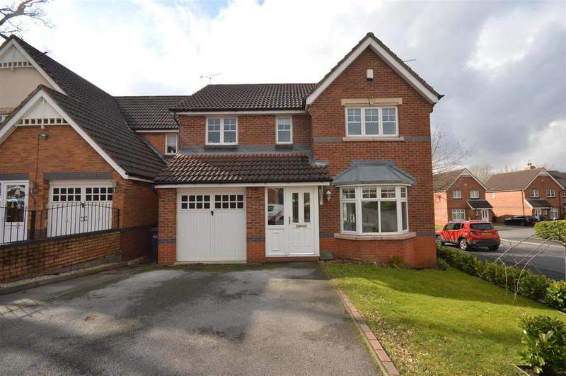 4 Bedrooms Detached House for sale in Ludworth Avenue, Marston Green, Birmingham