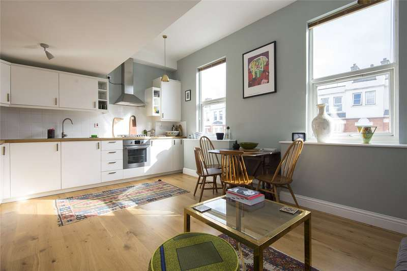 2 Bedrooms Flat for sale in Graham Road, London, E8