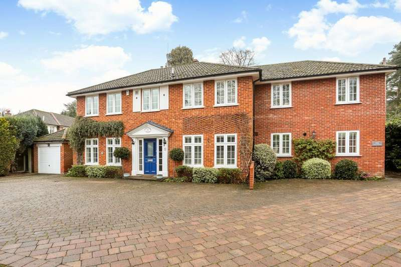 6 Bedrooms Detached House for sale in The Poplars, Ascot