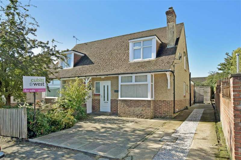 3 Bedrooms Semi Detached Bungalow for sale in Alsford Road, Waterlooville, Hampshire