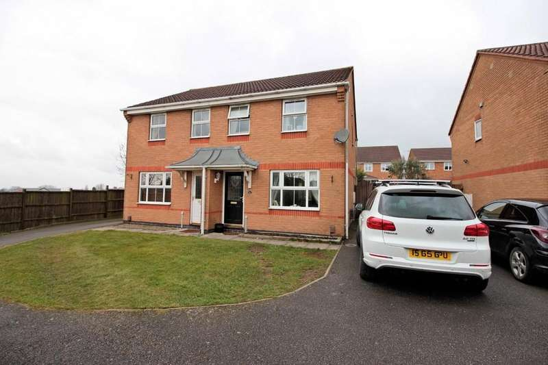 3 Bedrooms Semi Detached House for sale in Glenalmond Close, Ashby-de-la-Zouch