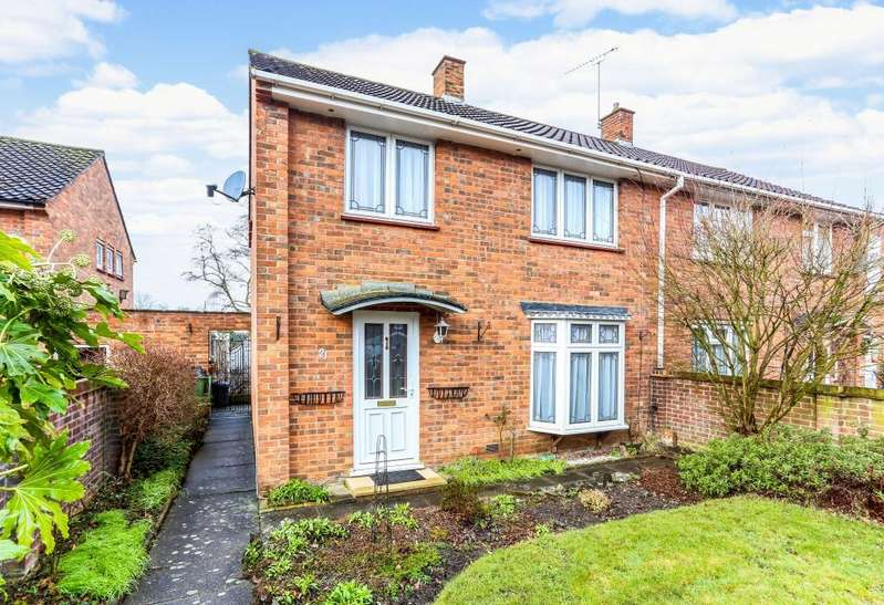 3 Bedrooms Semi Detached House for sale in Oakwood Road, Bracknell