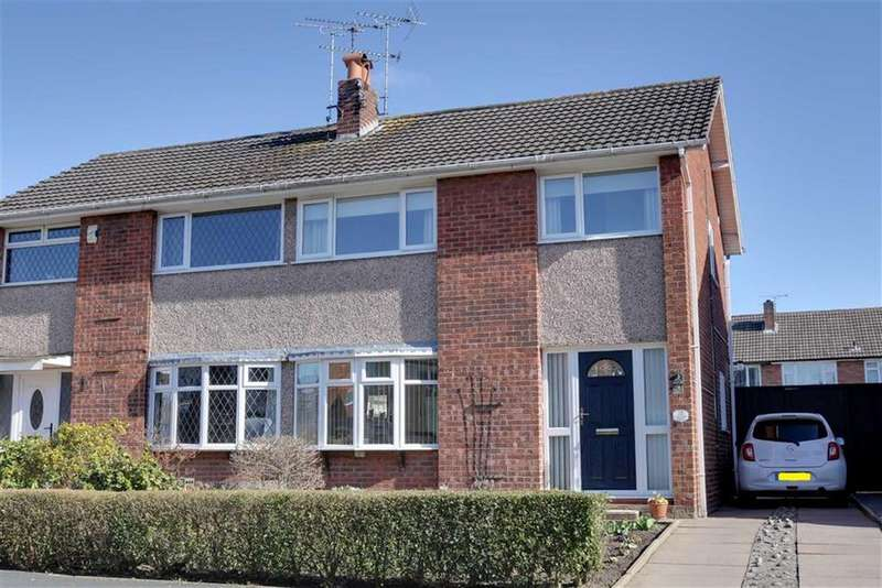 3 Bedrooms Semi Detached House for sale in Birch Avenue, Sydney, Crewe
