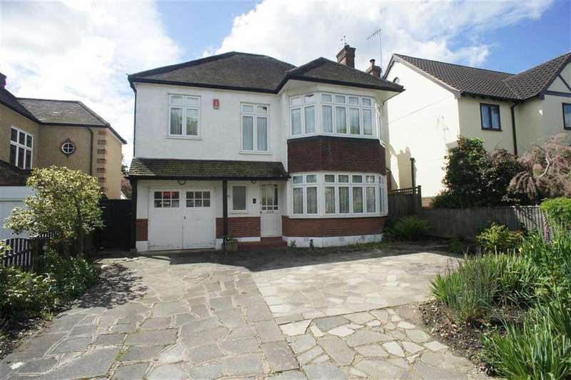 4 Bedrooms Detached House for sale in Park Way, Whetstone, London, N20
