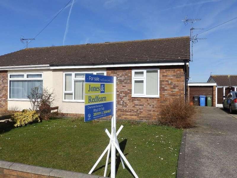 2 Bedrooms Semi Detached Bungalow for sale in Erw Las, Rhyl