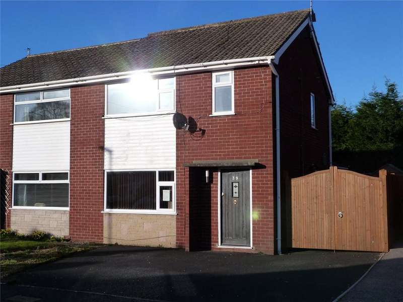 3 Bedrooms Semi Detached House for sale in Lear Drive, Wistaston, Crewe, Cheshire, CW2