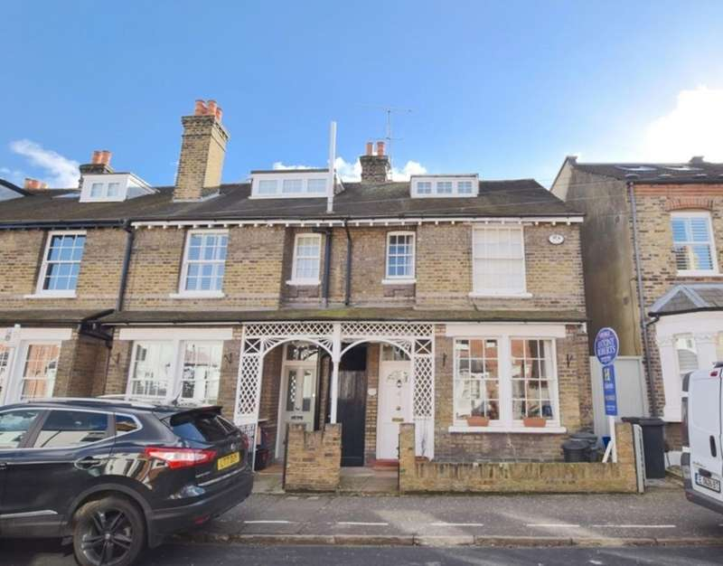 4 Bedrooms End Of Terrace House for sale in Windsor Road, Kew, Richmond, Surrey TW9