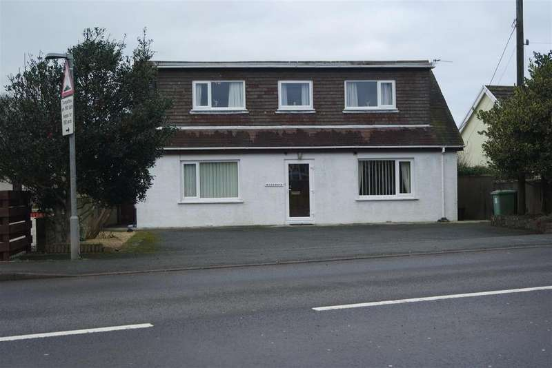 4 Bedrooms Detached Bungalow for sale in Milford Road, Johnston, Haverfordwest