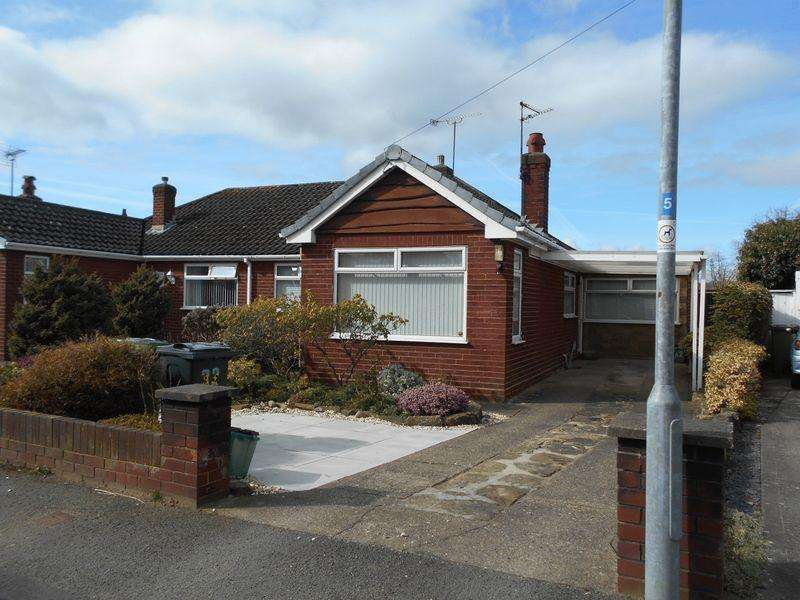 3 Bedrooms Semi Detached Bungalow for rent in Buckingham Road, Wrexham