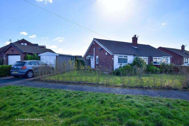 2 Bedrooms Bungalow for sale in Prestbury Drive, Warrington