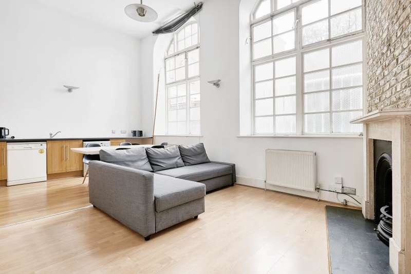 2 Bedrooms Flat for sale in Chequer Court, Old Street, EC1