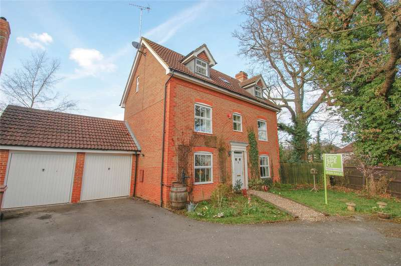 5 Bedrooms Detached House for sale in Bushell Way, Arborfield, Berkshire, RG2