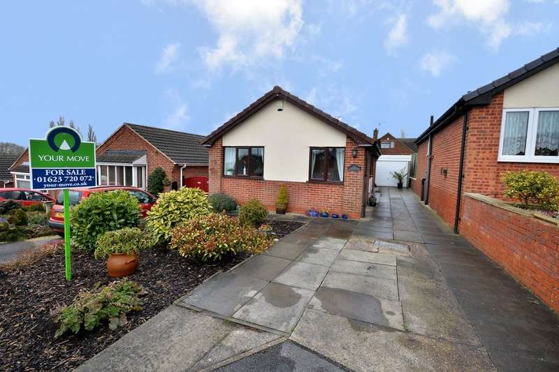 2 Bedrooms Detached Bungalow for sale in Derwent Drive, Kirkby-In-Ashfield, Nottingham, NG17