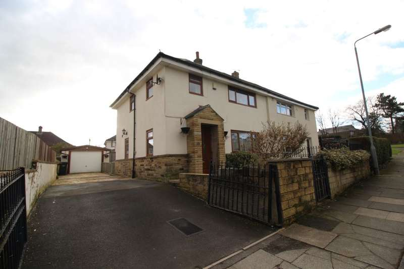 3 Bedrooms Semi Detached House for sale in Keighley Drive, HALIFAX, HX2