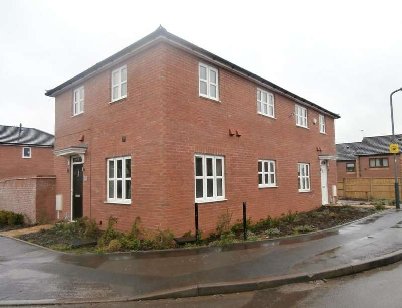 2 Bedrooms Semi Detached House for rent in The Hedgerows, Nuneaton, CV10