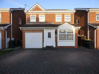 4 Bedrooms Detached House for sale in Wynwood Road, Toton, Nottingham, Nottinghamshire