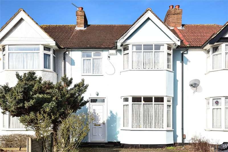 3 Bedrooms Terraced House for sale in Bishop Ken Road, Harrow, Middlesex, HA3