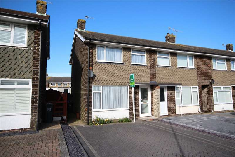 2 Bedrooms End Of Terrace House for sale in Garden Close, Lancing, West Sussex, BN15