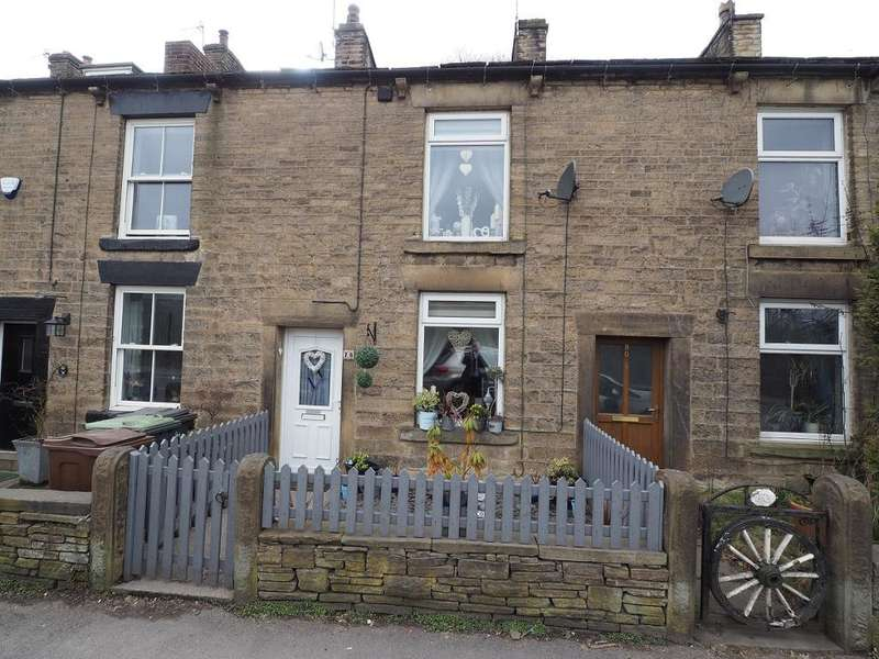 2 Bedrooms Terraced House for sale in Buxton Road, Furness Vale, High Peak, Derbyshire, SK23 7PF