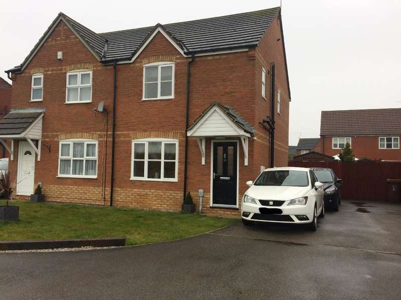 3 Bedrooms Semi Detached House for sale in Marbury Park, Kesteven Way, Kingswood, Hull, HU7 3DG