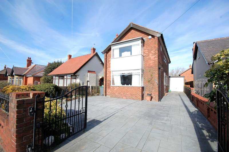 3 Bedrooms Detached House for sale in Hawes Side Lane, Blackpool
