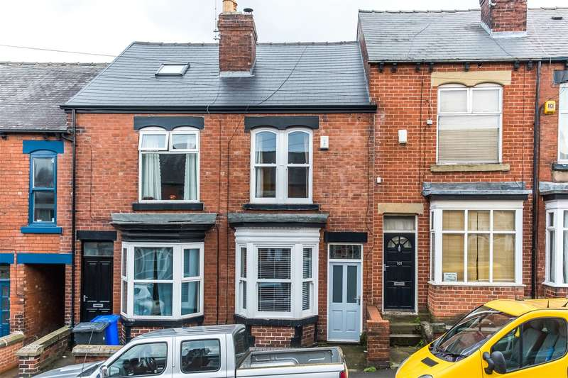3 Bedrooms Terraced House for sale in Blair Athol Road, Greystones, Sheffield, S11