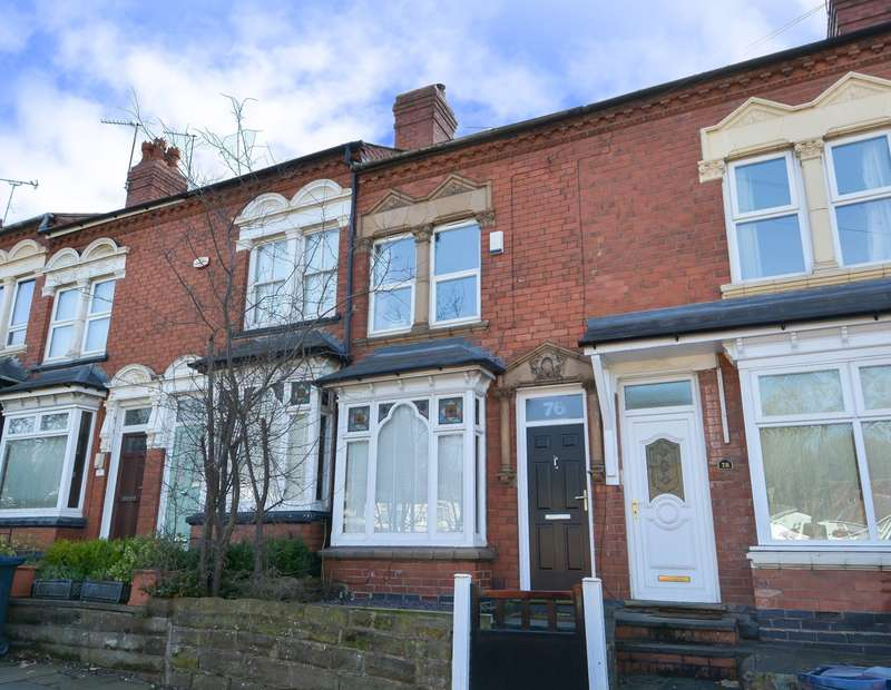 2 Bedrooms Terraced House for sale in War Lane, Harborne, B17