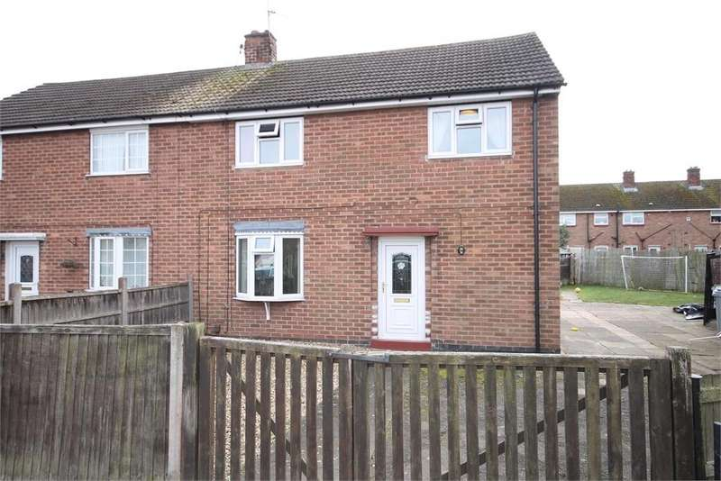 3 Bedrooms Semi Detached House for sale in Mercia Road, Newark, Nottinghamshire. NG24 4NA