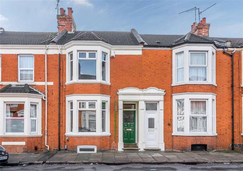 3 Bedrooms Terraced House for sale in Cedar Road, Northampton, Northamptonshire, NN1