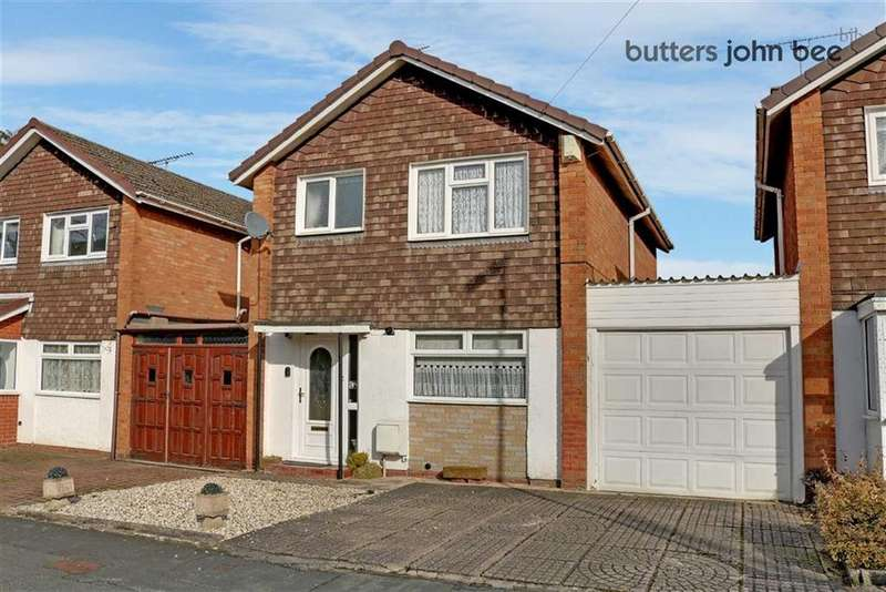 3 Bedrooms Link Detached House for sale in The Highlands, Stone, Staffordshire