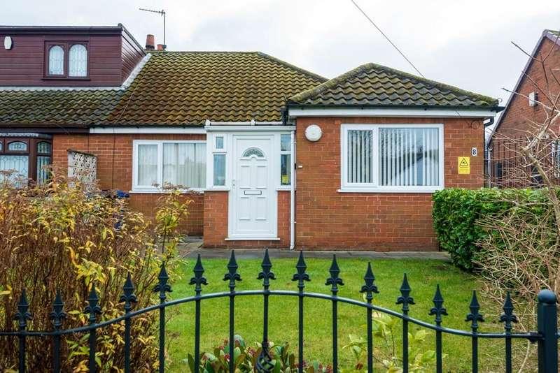 3 Bedrooms Semi Detached Bungalow for sale in Coleridge Road, Billinge, Nr Wigan