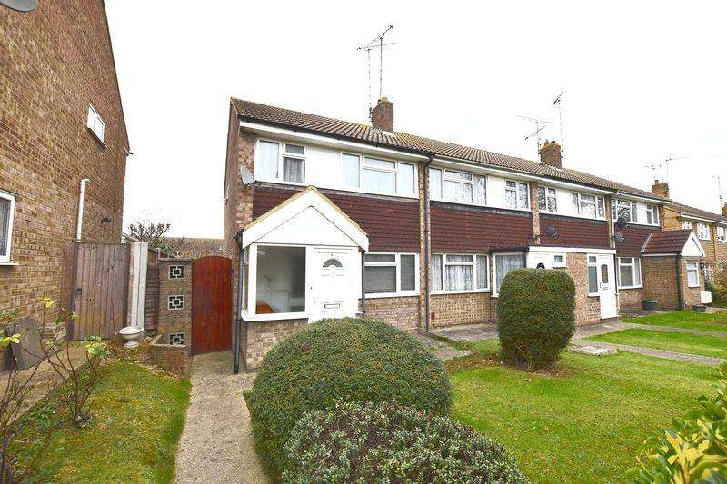 3 Bedrooms End Of Terrace House for sale in Barrymore Walk, Rayleigh