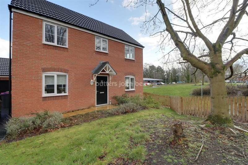 3 Bedrooms Detached House for sale in Leegomery, Telford