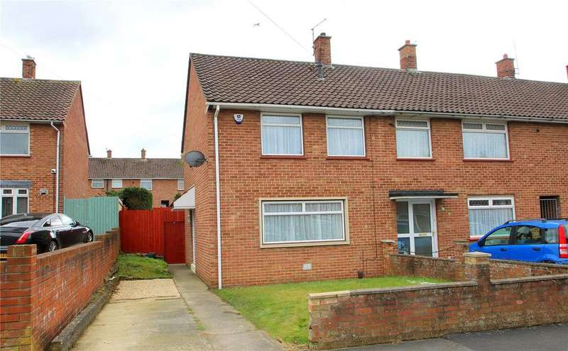 2 Bedrooms Semi Detached House for sale in Totshill Drive, Hartcliffe, BRISTOL, BS13