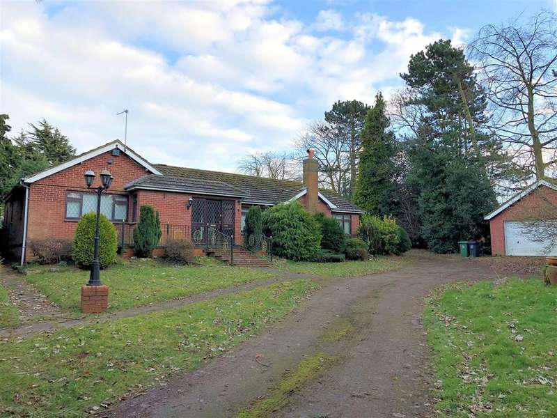 2 Bedrooms Detached Bungalow for sale in The Cedars, Melton Road, Syston