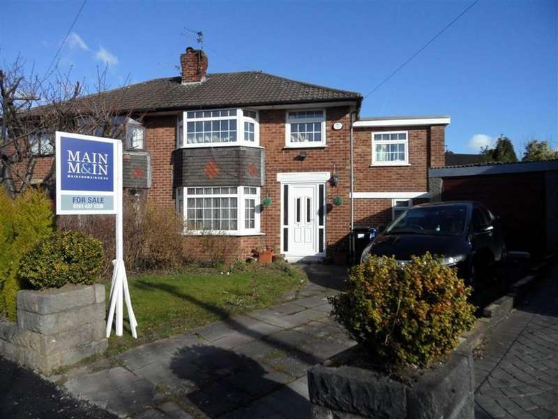 5 Bedrooms Semi Detached House for sale in Westwood Road, Heald Green