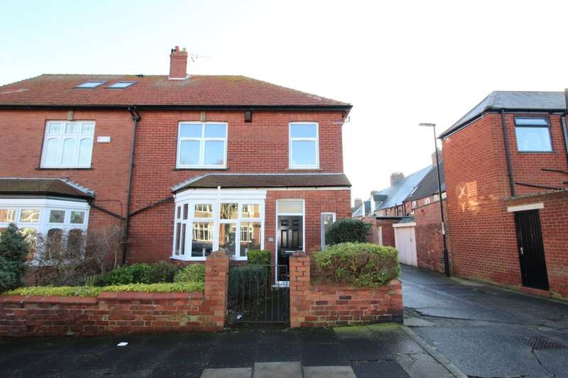 3 Bedrooms Semi Detached House for sale in Dene Road, Tynemouth, NE30