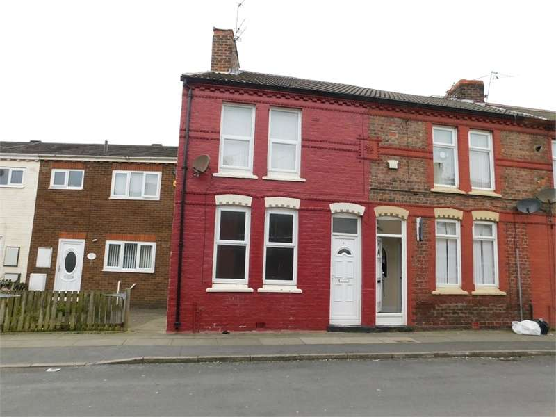 2 Bedrooms End Of Terrace House for rent in Moore Street, BOOTLE, Merseyside
