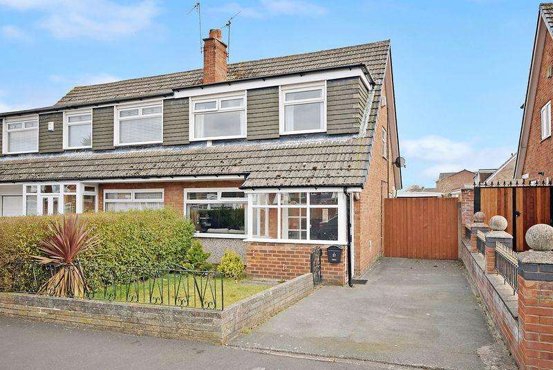 3 Bedrooms Semi Detached House for sale in Malin Close, Liverpool