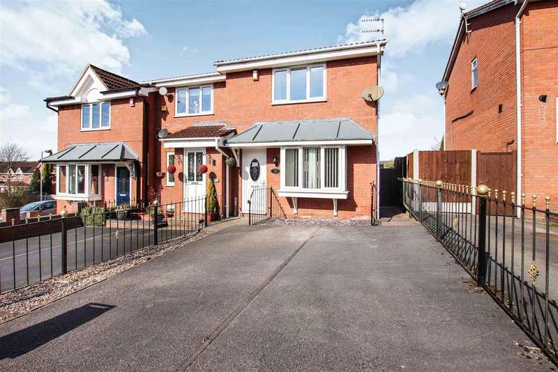3 Bedrooms Semi Detached House for sale in Chatterley Street, Burslem, Stoke-On-Trent