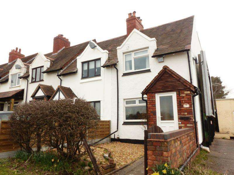2 Bedrooms Semi Detached House for sale in Aldridge Road, Streetly