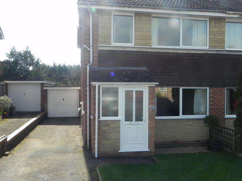 3 Bedrooms Semi Detached House for rent in Meadow Rise, Bewdley, DY12 1JP