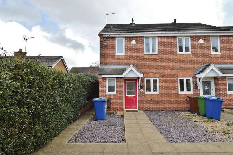 2 Bedrooms End Of Terrace House for sale in Eaton Drive, Rugeley