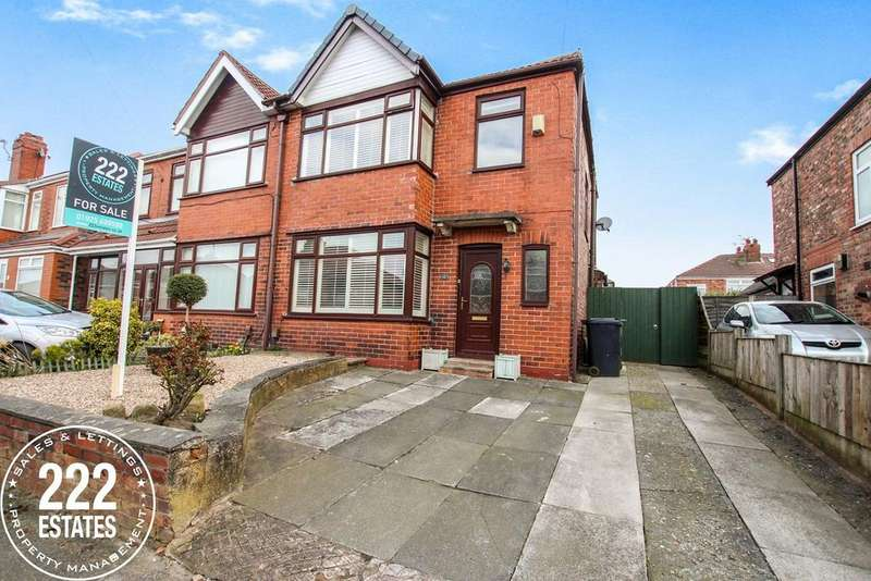 3 Bedrooms Semi Detached House for sale in Rydal Avenue, Warrington, WA4