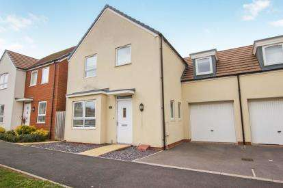 4 Bedrooms Link Detached House for sale in Chessel Drive, Charlton Hayes, Bristol, South Gloucestershire